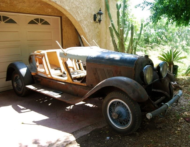 187 1929 Auburn 8 90 Speedster Project For Sale
