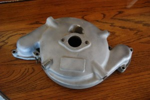 1935-1936 Auburn super charger original part - top view. Price:  $1000 (includes original casting.)