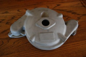 1935-1936 Auburn super charger casting. Price:  $1000 for original casting plus new casting.